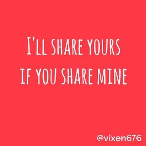 SHARE EXCHANGE❣️I'll match you share for share